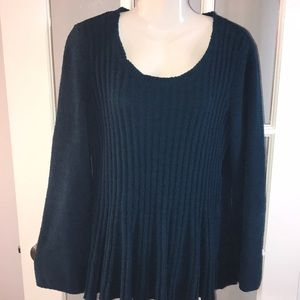 STYLE & CO turquoise sweater size M